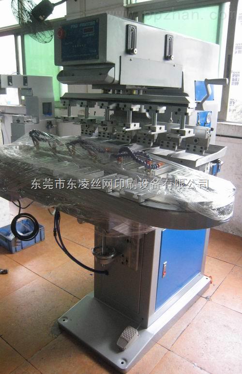 六色转盘机,六色转盘移印机,可抬头六色转盘机,六色抬头移印机