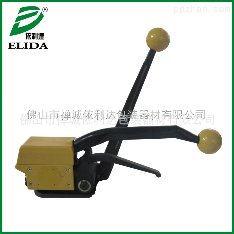 A999钢带打包机 青岛铁皮捆扎打包机 手动免扣钢带打包机