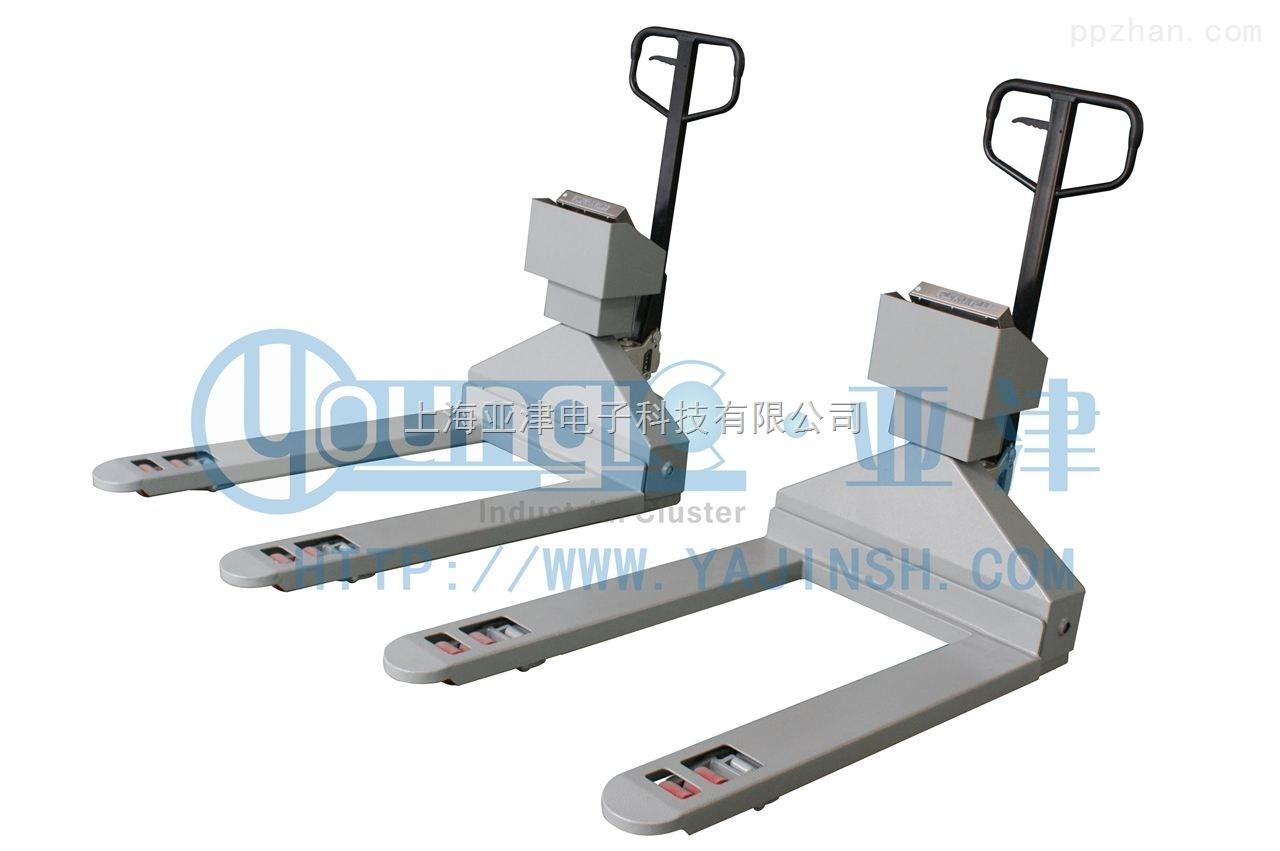 亚津不锈钢叉车秤食品行业0.5T电子叉车秤厂家