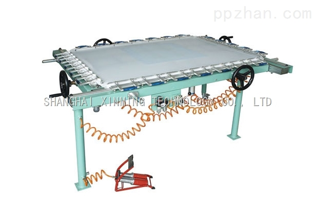 Mechanical  Screen Mesh Stretching Machine