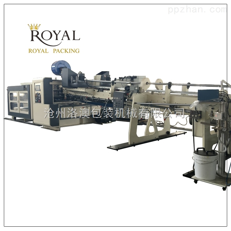 供应 优质纸箱机械 纸箱生产设备 全自动下折式粘箱机